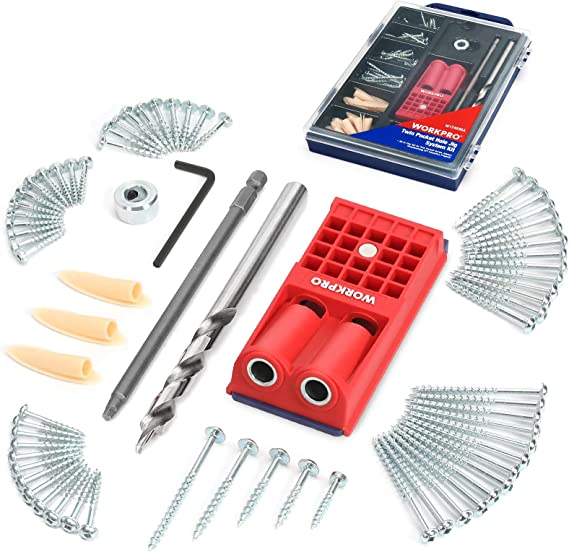 Pocket Plugs Plastic Cap Woodworking Hide Hole Jig System Hand//Tools 100 Pcs