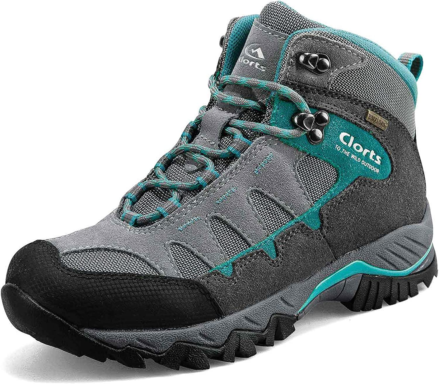 | Clorts Women's Pioneer Hiking Boots Waterproof Suede Leather Lightweight Hiking Shoes | Hiking Boots
