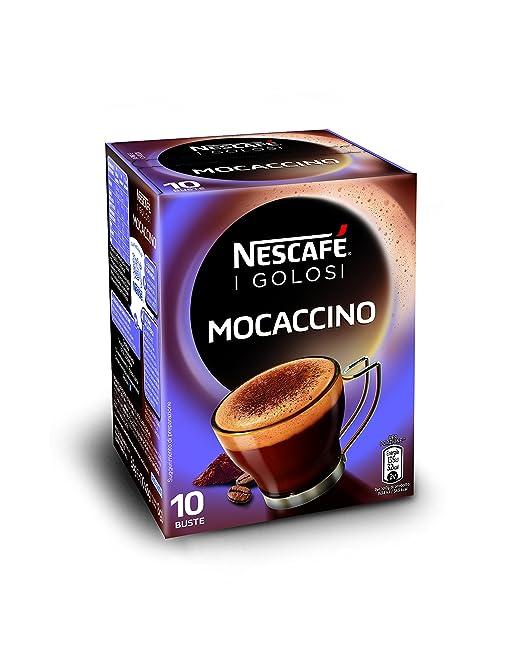 70 opinioni per Nescafé- Caffè Golosi, Mocaccino Preparato Solubile in Polvere al Caffè e Cacao-