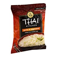 Thai Kitchen Instant Rice Noodle Soup, Garlic and Vegetables, 1.6-Ounce Unit (Pack...