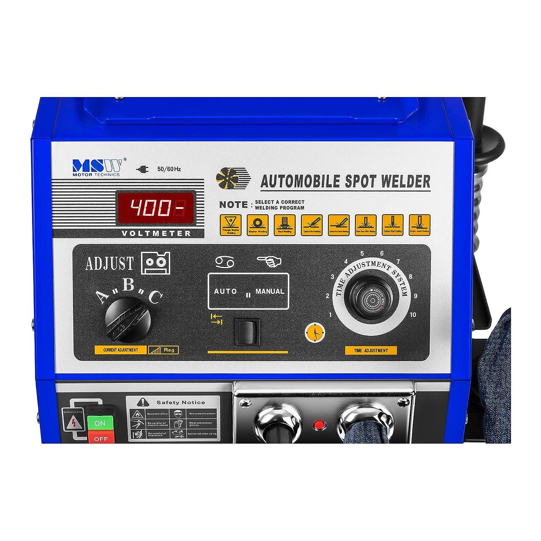 MSW S-Spotter 4000 Soldadora por Puntos Spotter Car (4000 A, 400 V ...