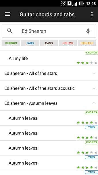 Amazon.com: Guitar Chords and Tabs: Appstore for Android