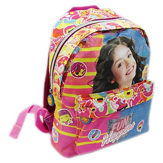 Disney Soy Luna Fun Happens Bolso Escolar por Niña Guarderìa Escuela: Amazon.es: Equipaje