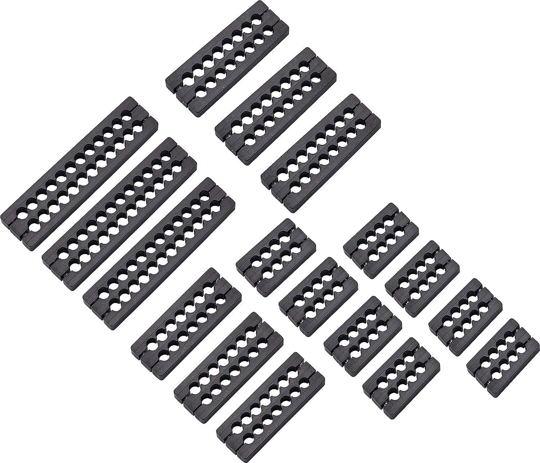Corsair Premium Kabel Kämme Kit Schwarz Computer Zubehör