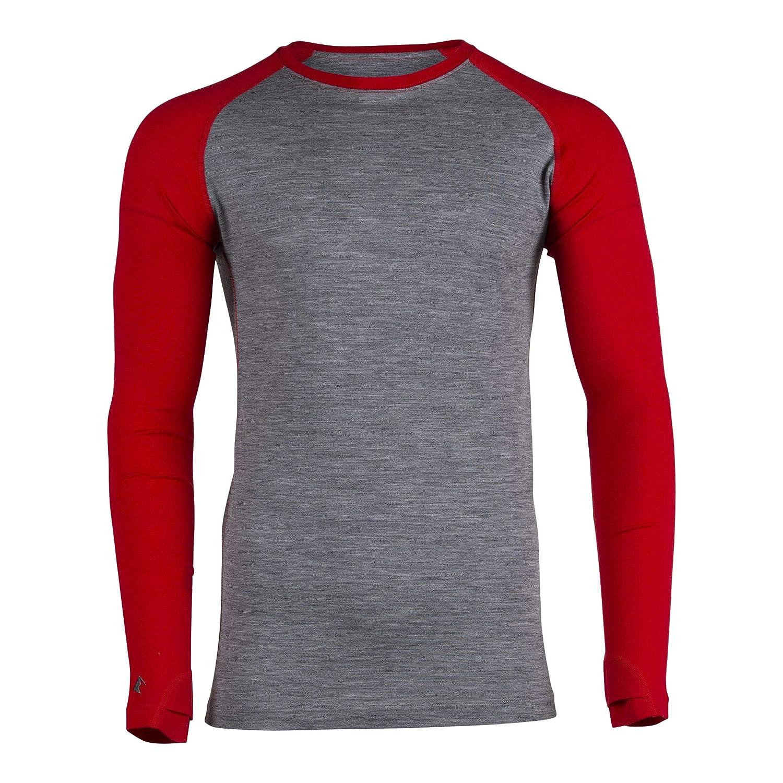 Ridge Merino Aspect Midweight Merinowolle Unterwäsche Langarm Shirt