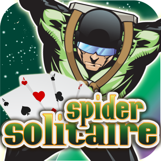 Parachute Spider - Solitaire Spider Free Parachute Heroes
