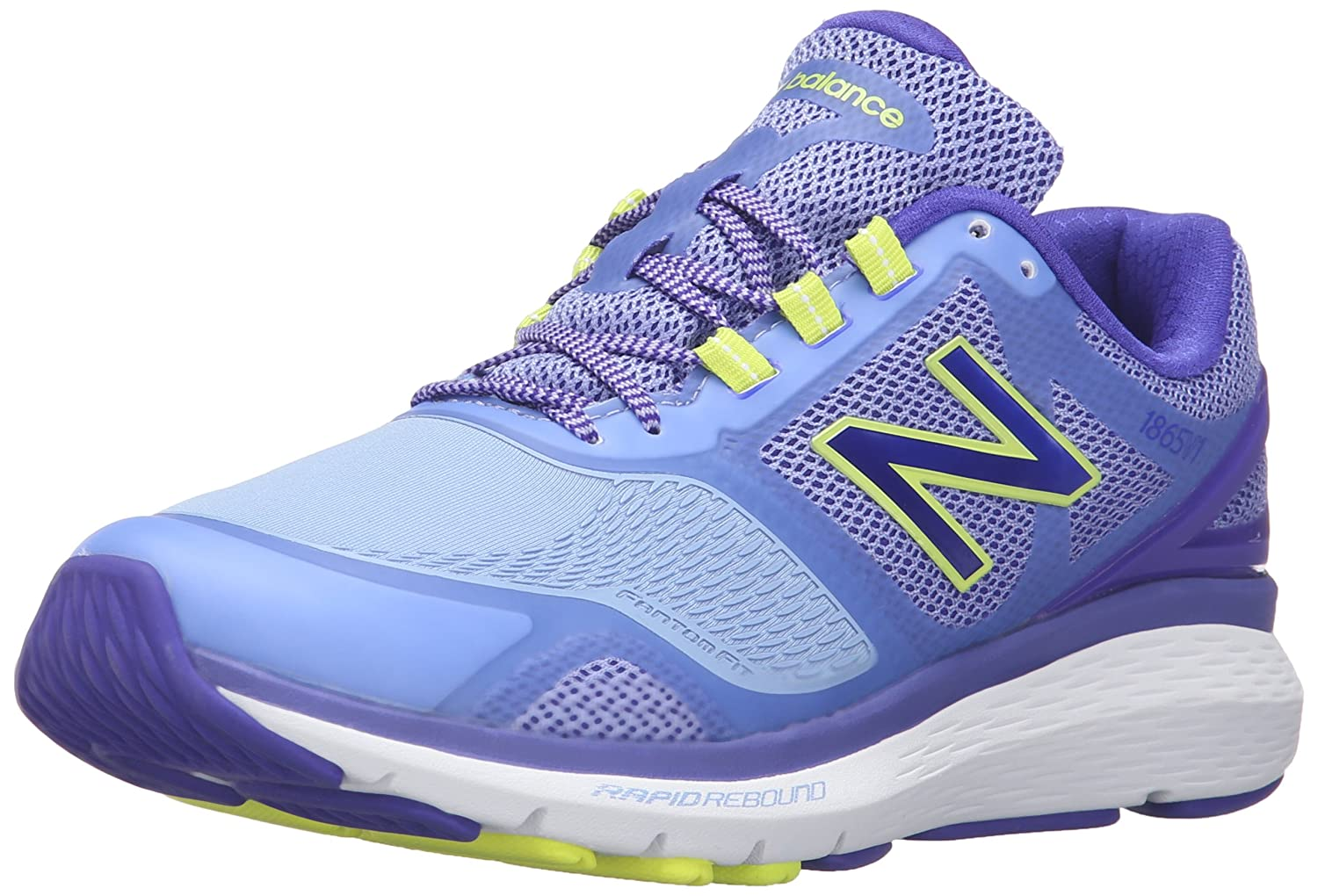 New Balance Women's WW1865v1 Walking Shoe B019DLDQSO 6 D US|Purple