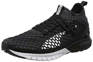 e7034696f Puma Men's Ignite Dual Netfit Puma Black-Quiet Shade Running Shoes - 6 UK/