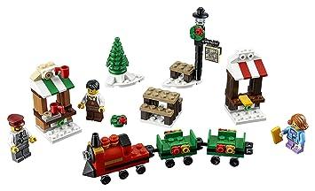 Amazon.com: LEGO Holiday 6175453 Christmas Train Ride 40262, Multi