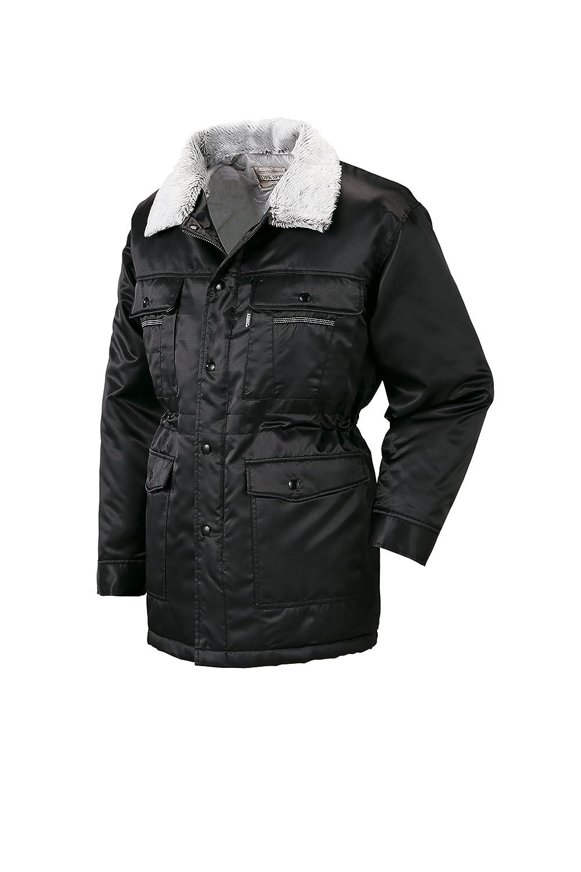 (ジーベック) XEBEC 光沢感のある素材 防寒着 防寒コート (216-xe) 【M~5Lサイズ展開】 B0179LG6SC L|ブラック ブラック L