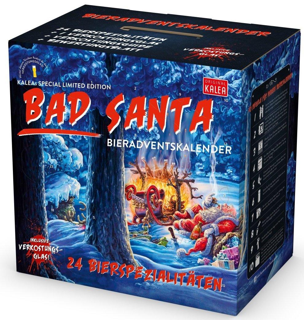 Weihnachtskalender Bad Santa