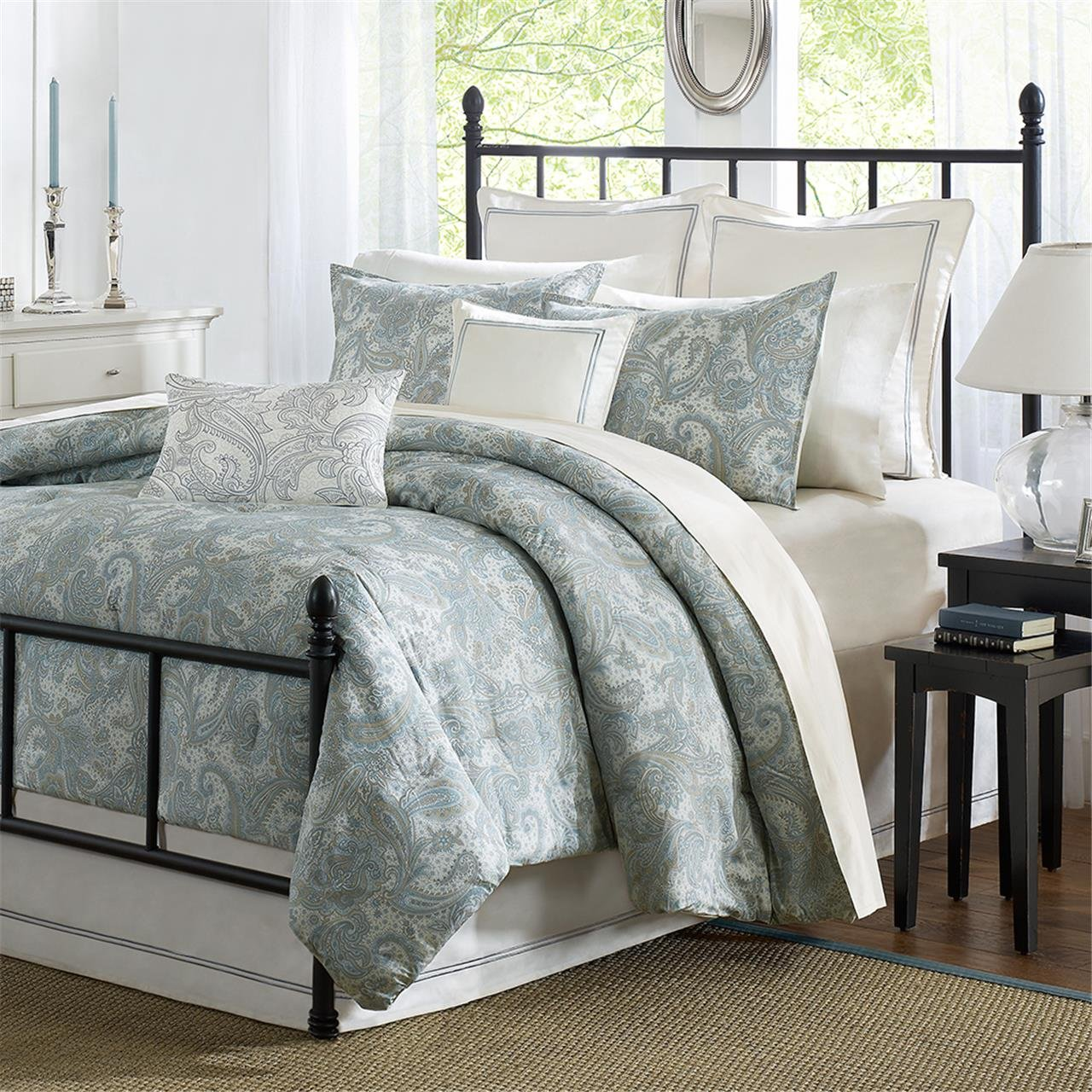 Harbor House Chelsea Paisley Comforter Set, Queen, Multi