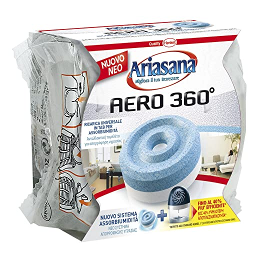 33 opinioni per ARIASANA AERO 360° RICARICA TAB INODORE 450GR