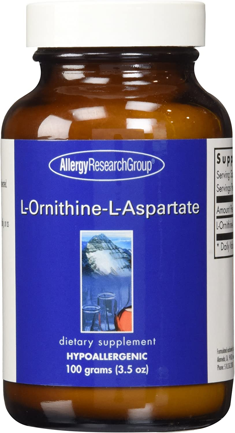 Allergy Research Group – L-Ornithine-L-Aspartate Powder – 100 g