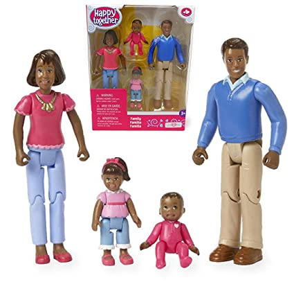 Amazon Com Exclusive You Me Happy Together Family Dolls Dad