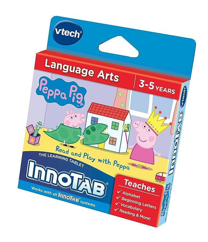 Amazon.es: Innotab - Ordenador educativo Peppa Pig, para 1 jugador (233403) (versión en inglés)