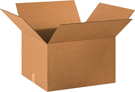 Amazon.com: Aviditi 2018212 caja corrugada de una sola pared ...