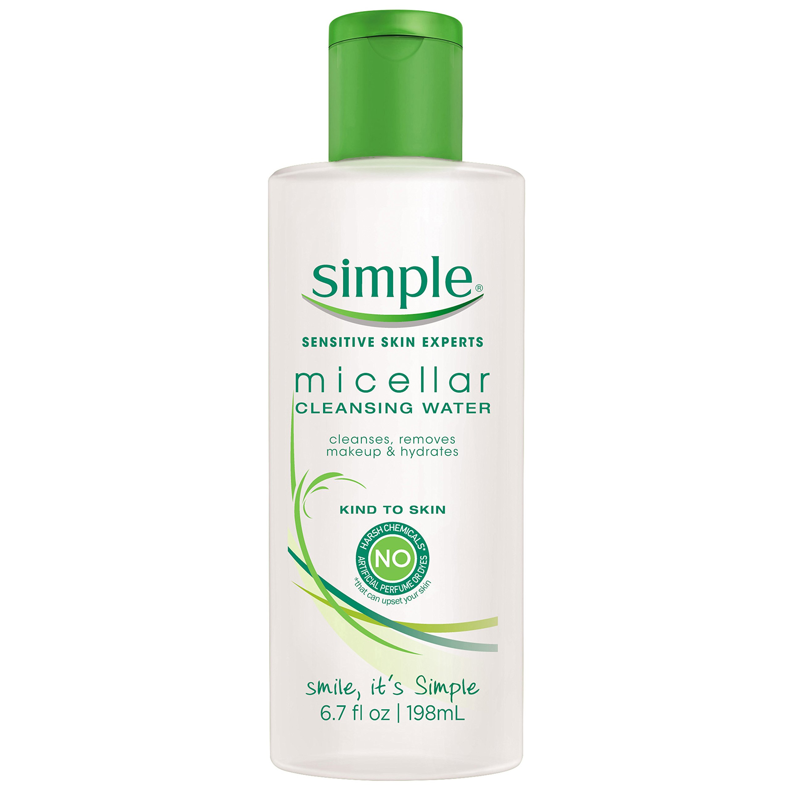 Simple Kind to Skin Cleansing Water, Micellar, 6.7 oz