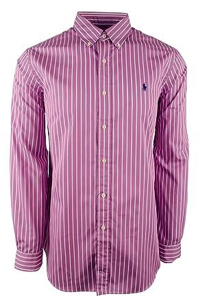 f4f13ca9aa3d4d Ralph Lauren ButtonUp Lavender / White at Amazon Men's Clothing store:
