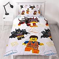 Lego Movie 2 Awesome UK Single Duvet/Doona Cover and Pillowcase Set