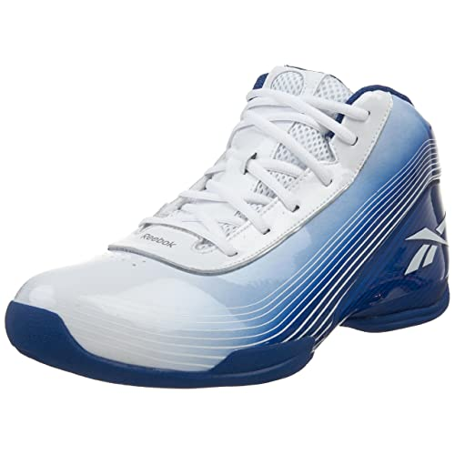 Reebok Mens Deep Range II Basketball Shoe,Team Royal/White ...