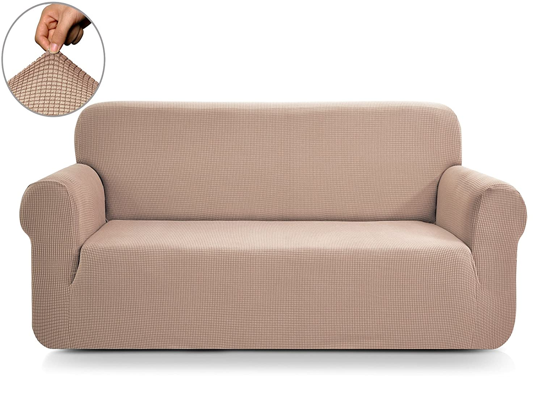 (チュンイ)Chun Yi ジャカードソファーカバー 1枚 ポリエステルスパンデックス生地 Sofa SJNEW0015 B071GY964Y Sofa|ライトカーキ ライトカーキ Sofa