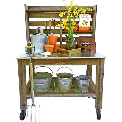 Amazon Com Est Lee Display L D 1902 Outdoor Potting Bench