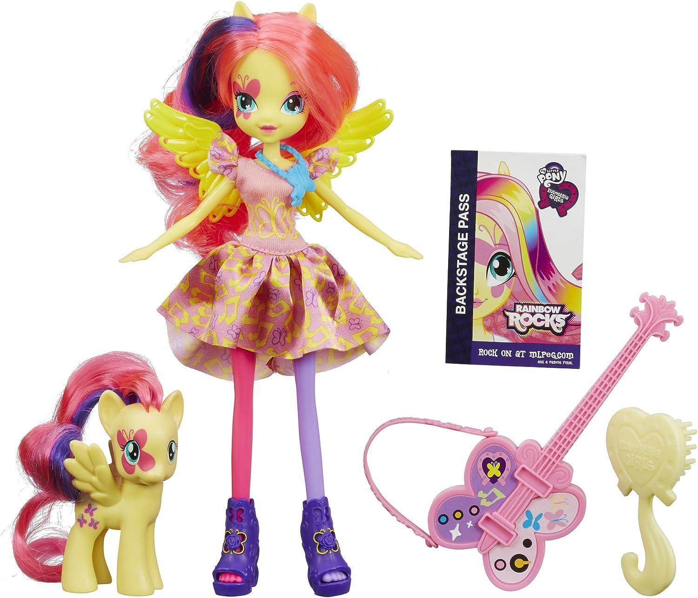 My Little Pony Rainbow Rocks Equestria Girls Octavia Melody Doll /& Pony Set