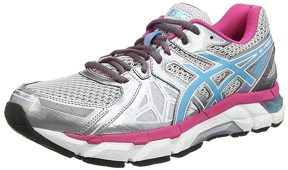Asics T6E6N2001, Chaussures de Running Femme, Rose, 39 EU