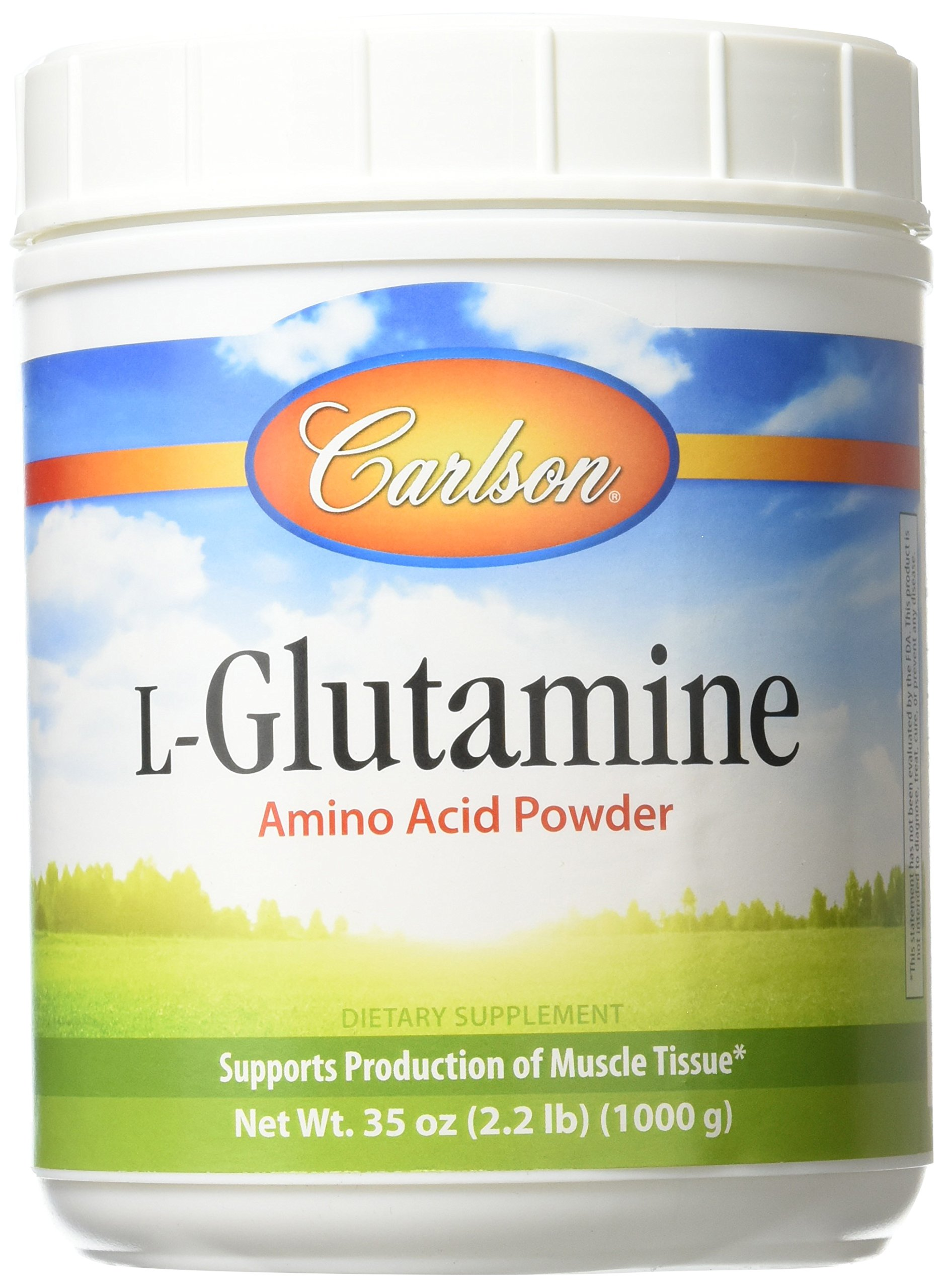 Carlson Labs L-glutamine Powder, 1000 Gram