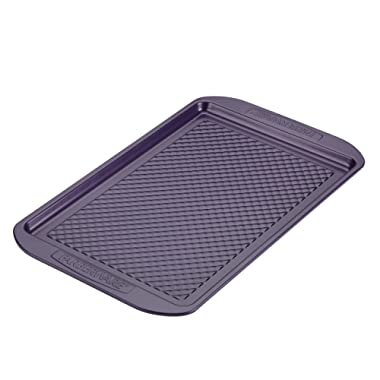 Farberware 47138 Colorvive Bakeware Nonstick Cookie Pan 11  x 17  Purple