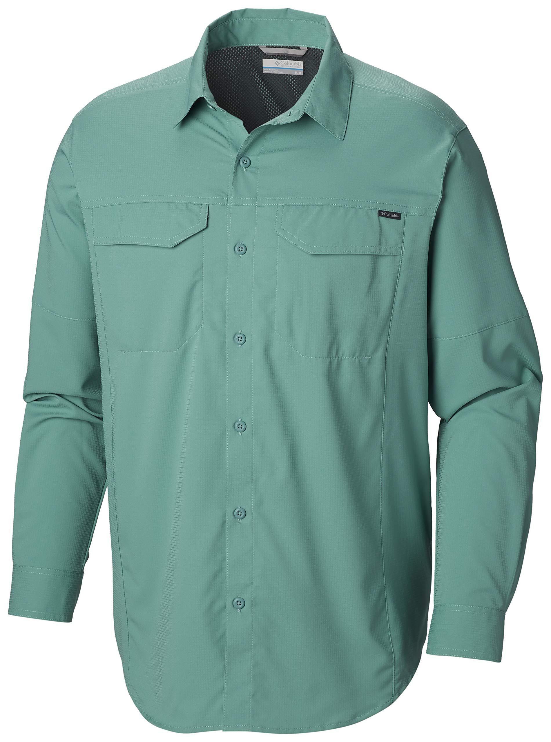 Columbia Men's Silver Ridge Lite Long Sleeve Shirt, Copper Ore, Small