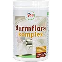 for you darmflora komplex hochdosiert I Effektives Synbiotikum - probiotisches Pulver mit präbiotischen Ballaststoffen I Darmgesundheit Nahrungsergänzung I Darmkur Pulver 150 g (30 Portionen)