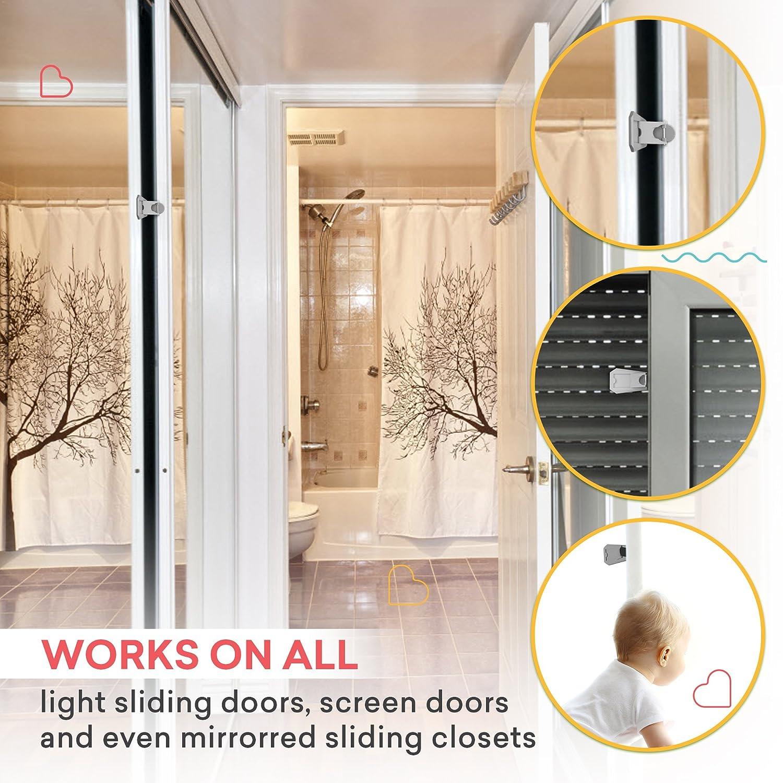 Sliding Door Lock Baby Proof Closets Window Locks For Children