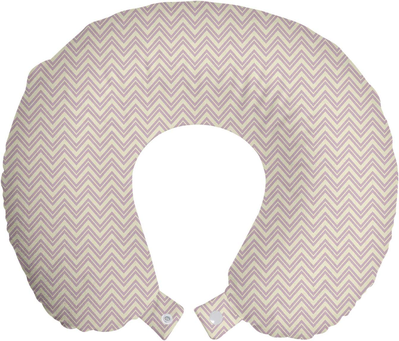 ABAKUHAUS Retro Travel Pillow Neck Rest