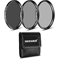 Neewer® 77MM ND Filter Set (ND2 ND4 ND8) for The Canon EF 24-105mm f/4 L is USM Zoom Lens, The Nikon 28-300mm f/3.5-5.6G…
