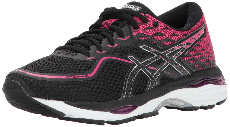 ASICS Women's Gel-Cumulus 19 Running Shoe, Black/Silver/Ink Peacoat, 8.5 Medium US