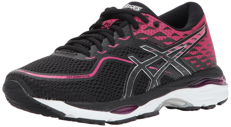 Black ASICS Women's Gel-Cumulus 19 D Width Running shoes T7B8N