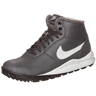 differently 6da06 db032 Nike Hoodland Leather Winter Boots Ash 654887 290 Grey Size 9  Amazon.co.uk Shoes  Bags
