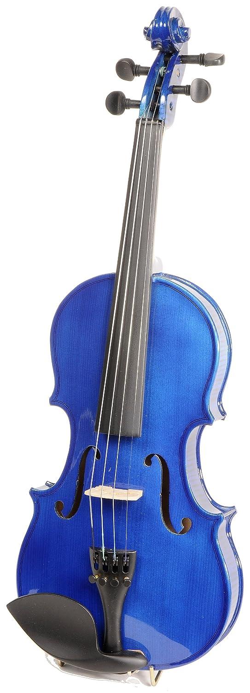 ASHTON AV122BBS - Violín (tamaño 1/2, arce), color azul: Amazon.es: Instrumentos musicales