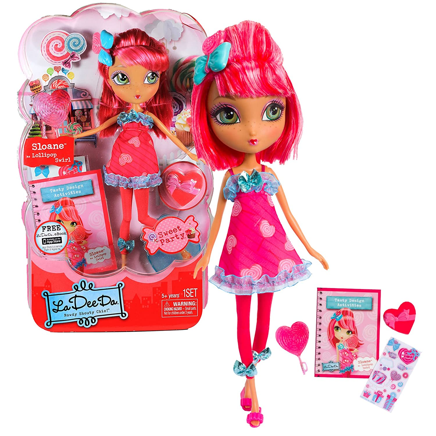 La Dee Da - Sweet Party Candy Doll - SLOAN as Lollipop