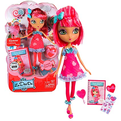 Bambole Imported From Abroad La Dee Da Ribbon Salon Playset Doll Spin Master