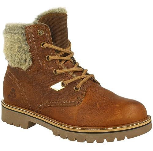 BULLBOXER Tasmina Botines/Low Boots Mujeres Brown Botas de caña Baja: Amazon.es: Zapatos y complementos