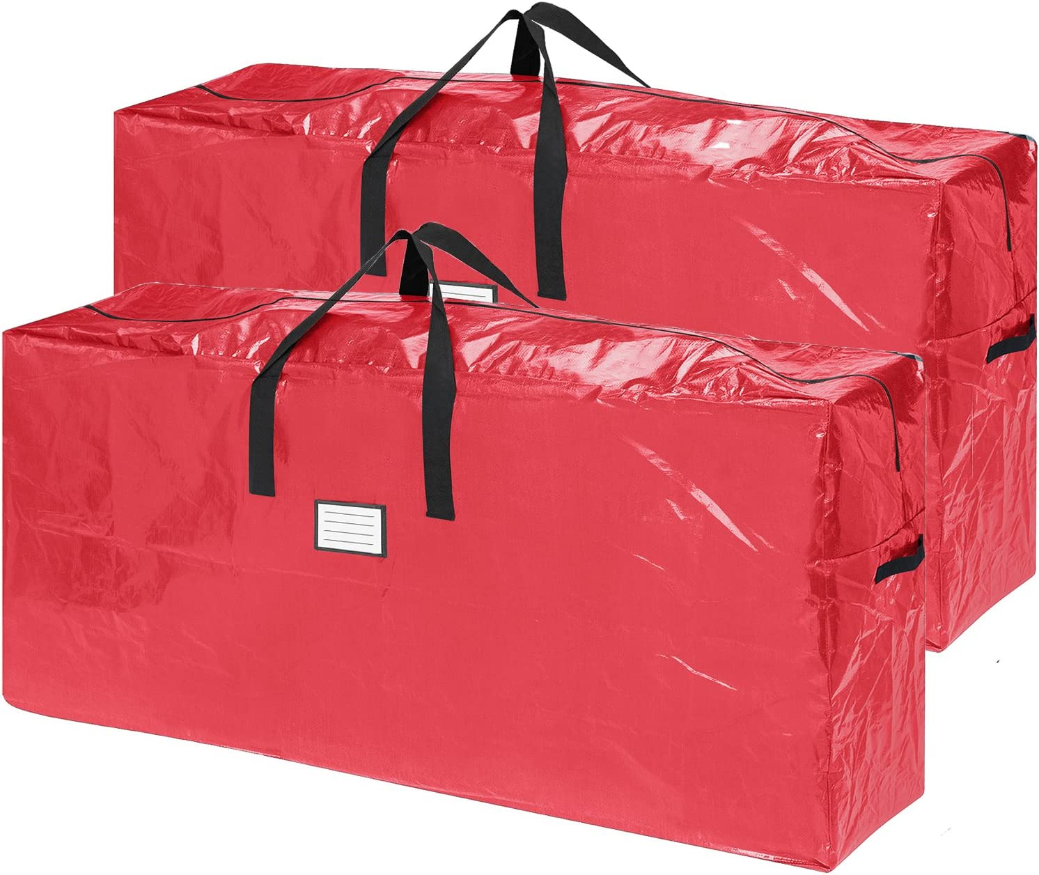 Elf Stor 83-DT5517 2-Pack Extra Large for up to 9 Ft Tree Christmas Bag Red