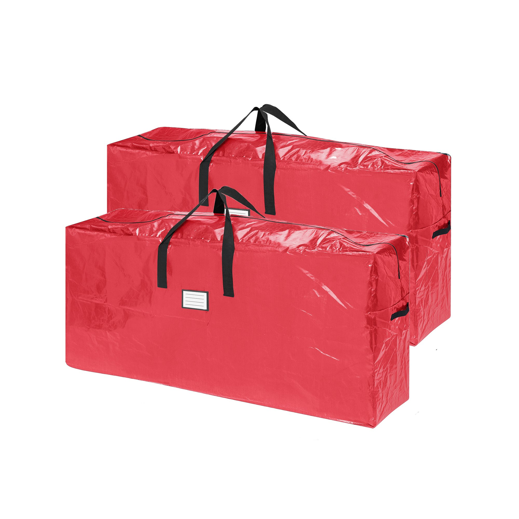 Elf Stor 83-DT5517 2-Pack   Christmas Bag   Extra Large for up to 9 Ft Tree   Red