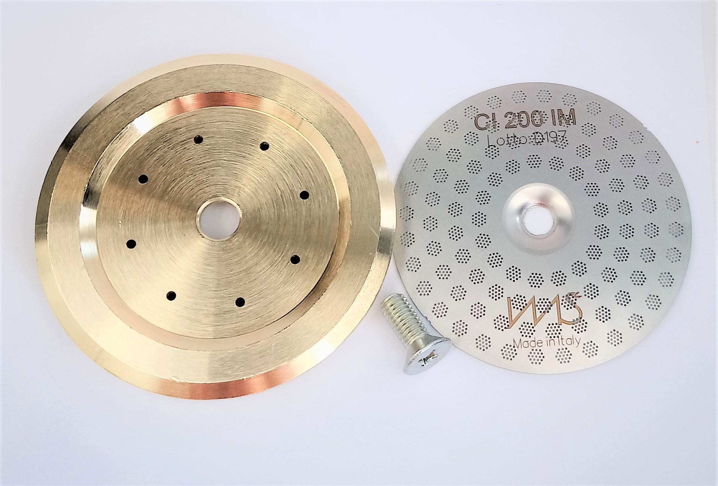 Breville shower screen and inner holder. Custom tune up kit for 58mm Breville BES900XL BES920XL BES980XL. IMS Precision Shower Screen and Brass inner holder by VeryBarista (Image #4)