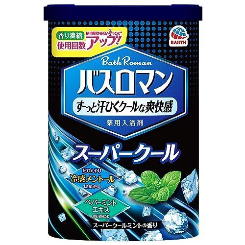 アース製薬 バスロマン 入浴剤 スーパークールタイプ