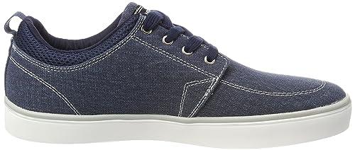 O'Neill Crest Canvas, Zapatillas para Hombre, Azul (Navy/Grey C04), 45 EU