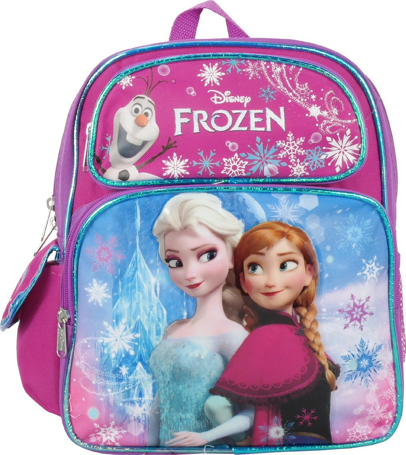 Small Backpack - Disney - Frozen Pink Elsa+Anna School Bag 659196 B010IH9NOS