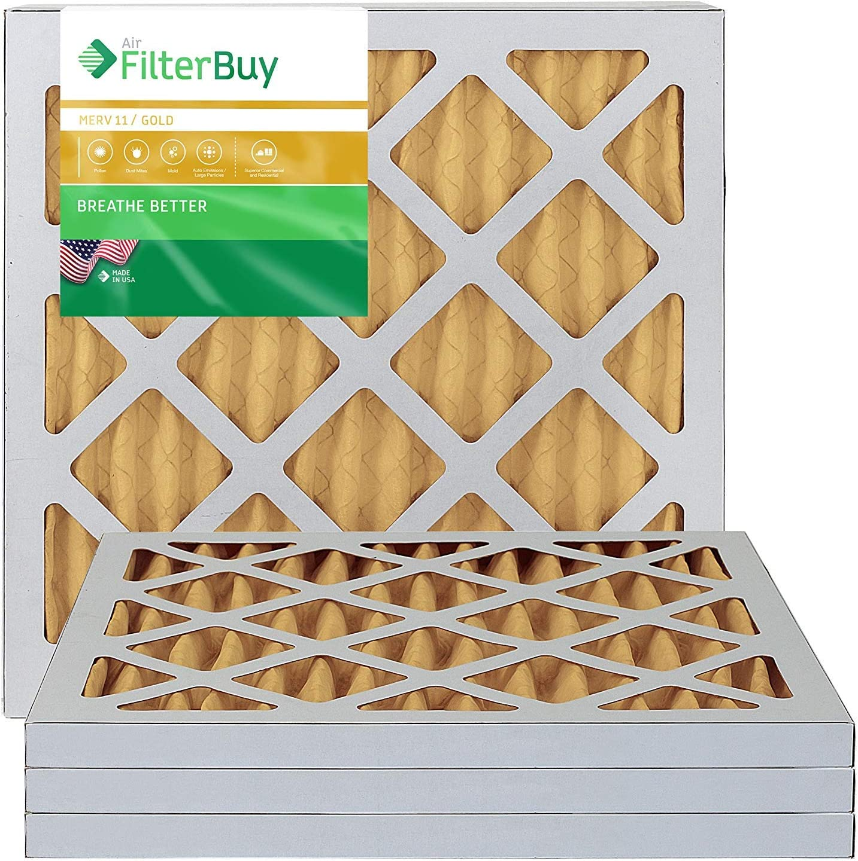 FilterBuy AFB14x14x1M11pk4 AC filter